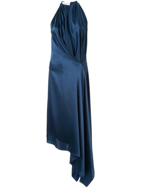 Приталенное драповое платье миди Bianca Spender