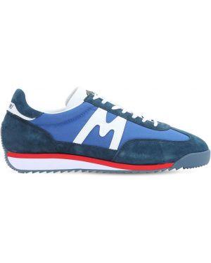 Нейлоновые синие классические кроссовки на шнуровке Karhu