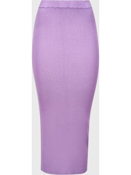 Юбка из вискозы - фиолетовая Vicolo