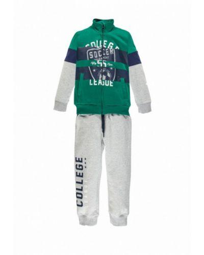 Спортивный костюм серый зеленый Brums