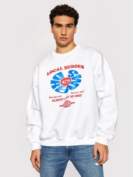 Bluza - biała Local Heroes