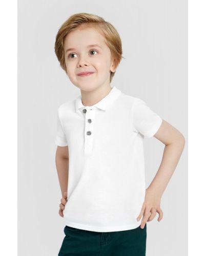 С рукавами белая рубашка с воротником Ostin