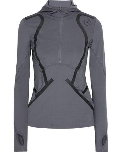 Топ с капюшоном - серый Adidas By Stella Mccartney