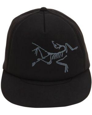 Czarny kapelusz z siateczką Arcteryx