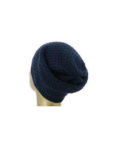Синяя шапка кашемировая Fedeli