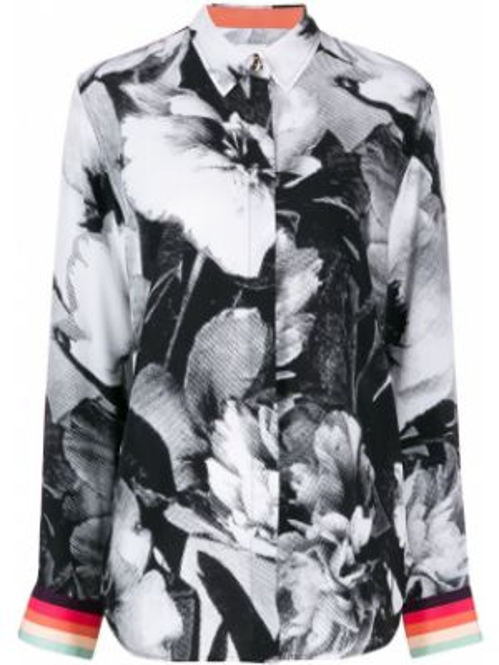 Классическая черная классическая рубашка Paul Smith