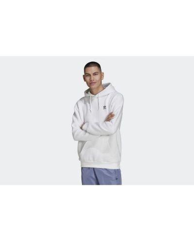 Bluza z kapturem - biała Adidas