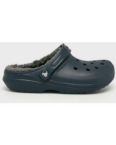 Сабо темно-синий с подкладкой Crocs