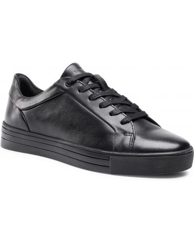 Czarne sneakersy Wojas