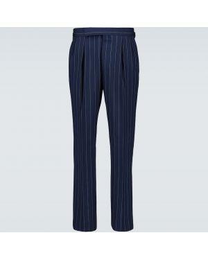 Фиолетовые брюки с манжетами Ralph Lauren Purple Label