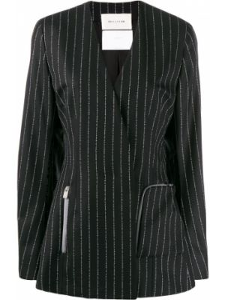 Шерстяной черный пиджак на пуговицах 1017 Alyx 9sm
