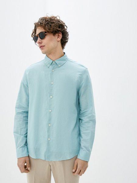Бирюзовая рубашка Marks & Spencer