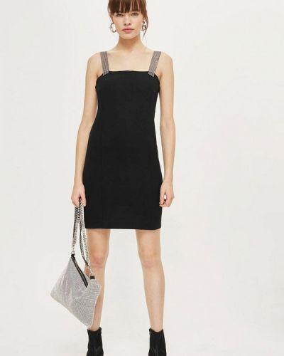 Черное платье весеннее Topshop