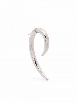 Серьги серебристые - серебряные Misbhv