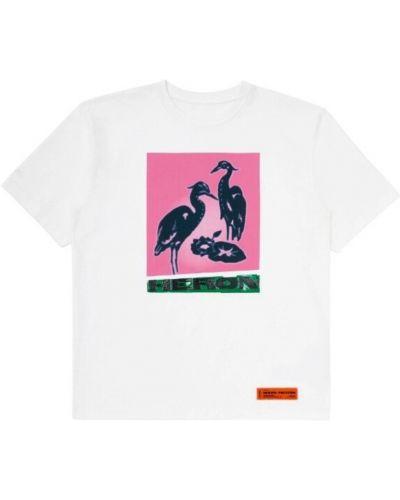 Podkoszulka z printem - biała Heron Preston