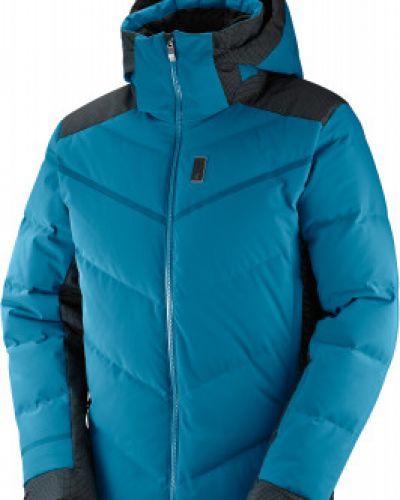 Куртка с капюшоном спортивная с манжетами Salomon