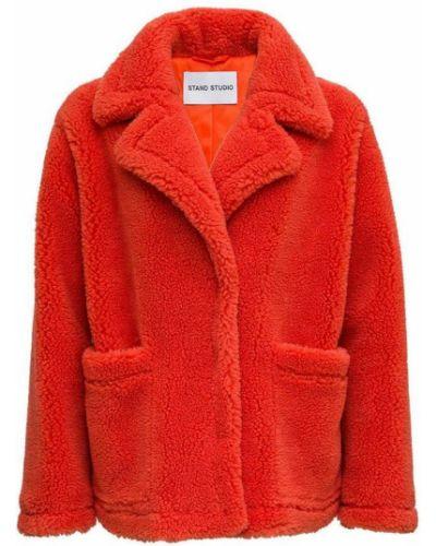 Czerwony płaszcz Stand Studio