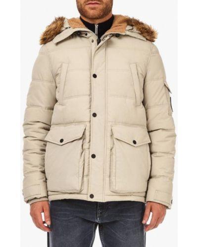 Утепленная куртка - белая Burton Menswear London