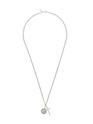 Серебряная цепочка с подвесками Emanuele Bicocchi