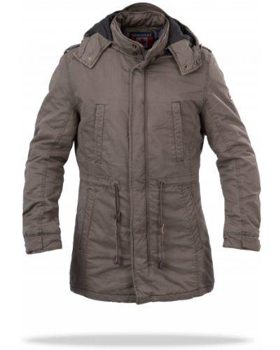 Куртка с капюшоном - коричневая Freever