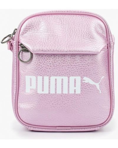 Сумка через плечо кожаный Puma