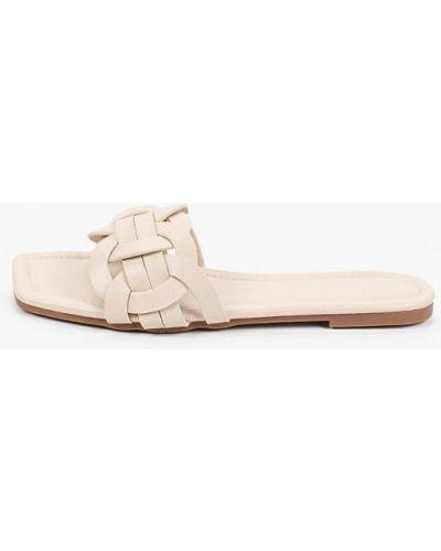 Бежевые кожаные сабо Sweet Shoes