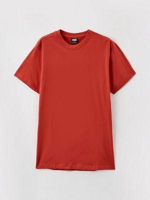 Городская красная футболка с короткими рукавами Urban Classics