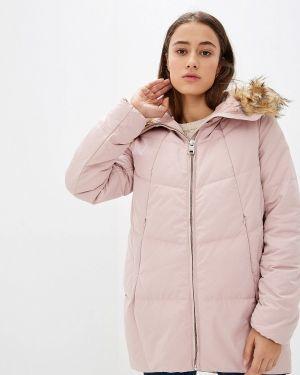 Зимняя куртка осенняя розовая Befree