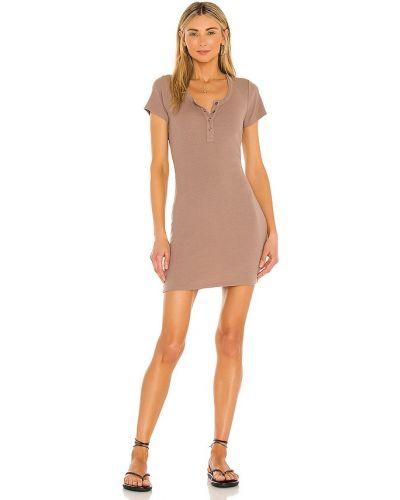 Облегченное ватное трикотажное платье Bobi
