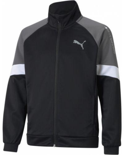 Комбинированная куртка - черная Puma