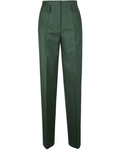 Zielone spodnie Alberta Ferretti