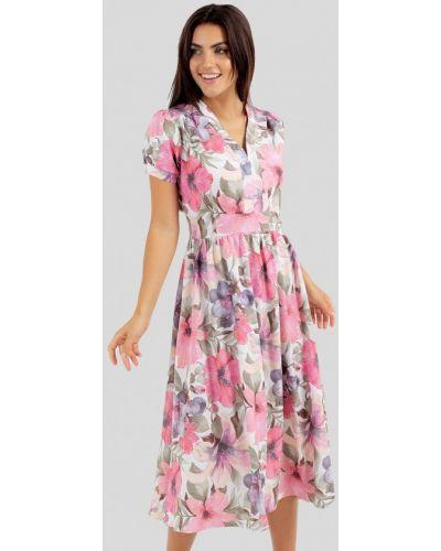 Разноцветное платье Vsv
