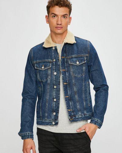 Джинсовая куртка утепленная укороченная Diesel