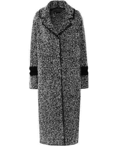 Пальто с отложным воротником шерстяное D.exterior