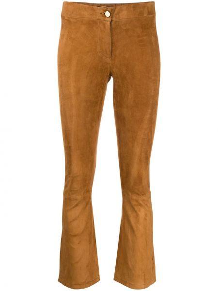 Spodnie z wysokim stanem przycięte obcisłe Arma
