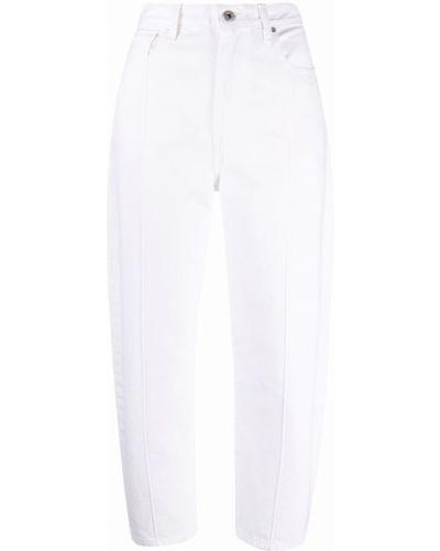 Хлопковые белые джинсы на пуговицах Levi's®