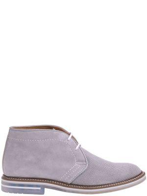 Кожаные ботинки - серые Brimarts
