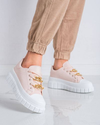 Sneakersy skorzane Shelovet