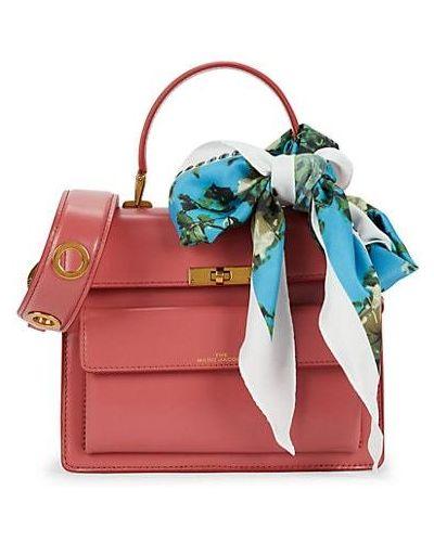 Кожаный ранец с карманами Marc Jacobs