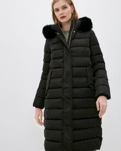 Утепленная черная куртка Madzerini