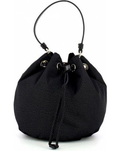Czarna torebka Borbonese