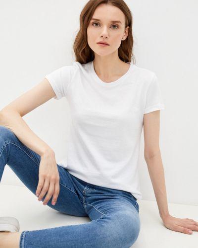 Белая футболка с короткими рукавами D.s
