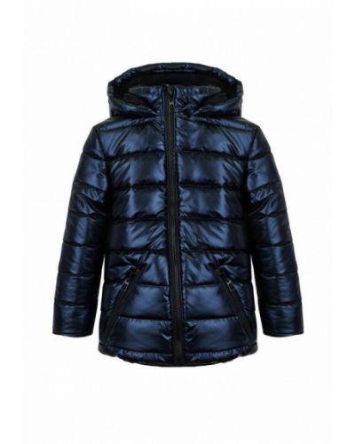 Утепленная синяя куртка Garnamama