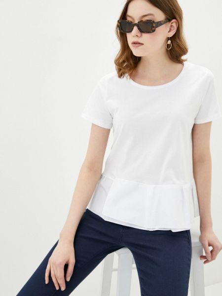 Футбольная белая футболка Adl