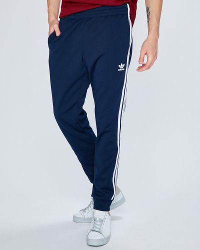 Брюки на резинке прямые с карманами Adidas Originals