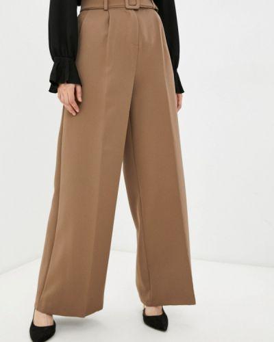 Коричневые брюки повседневные Pinkkarrot