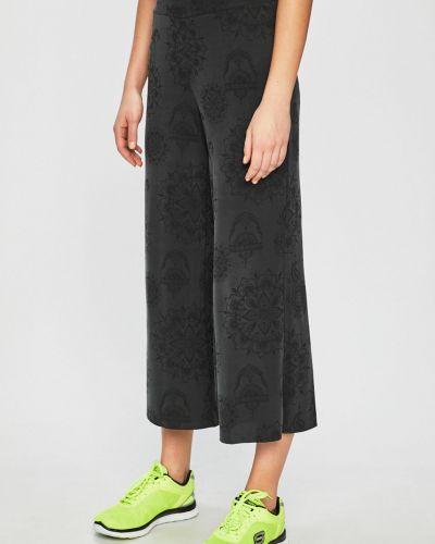 Серые брюки на резинке свободного кроя Desigual Sport