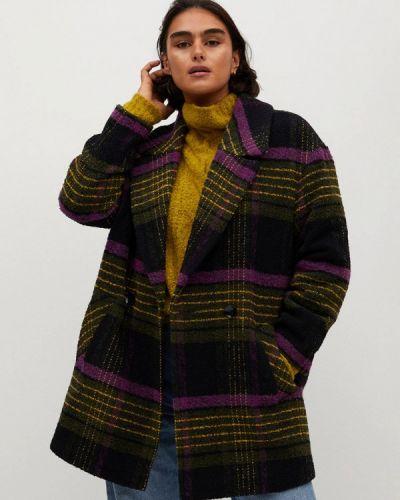 Пальто двубортное Violeta By Mango