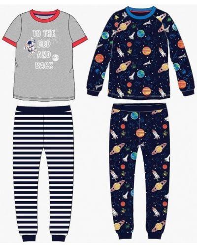 Пижама серая синяя Infinity Kids