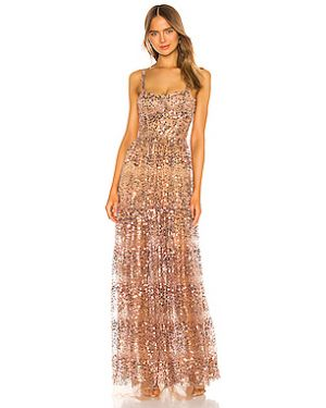 Вечернее платье с пайетками на бретелях Bronx And Banco